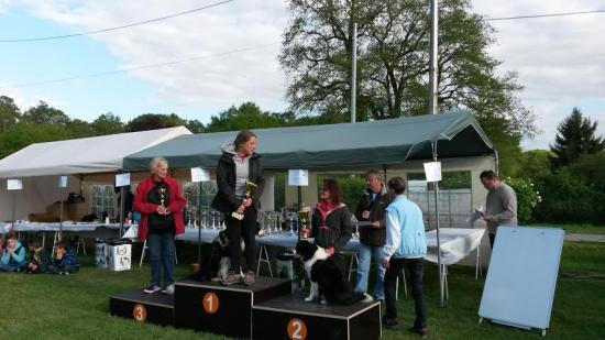 Le podium de saint doulchard 2 nogentais 2 et 3eme place